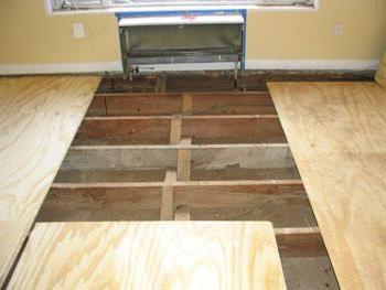 підлога з фанери по лагам своїми руками в приватному будинку
