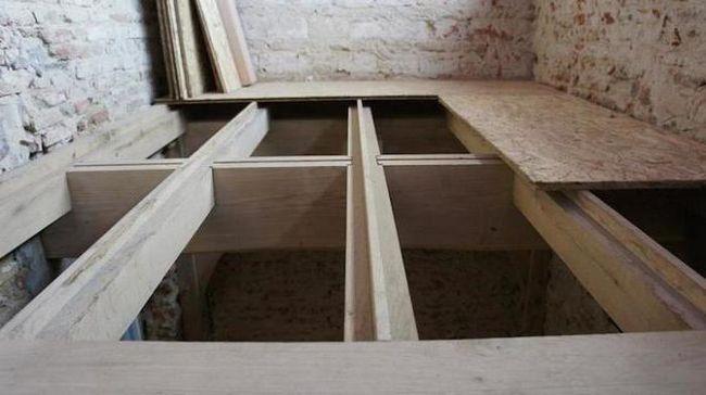 підлога з фанери по лагам своїми руками на 2 поверсі