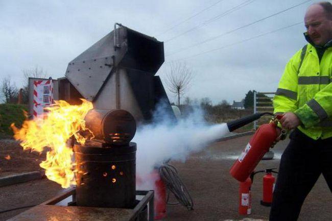 протипожежний інструктаж та пожежно технічний мінімум