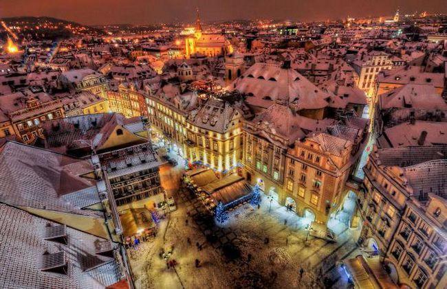 Прага в грудні