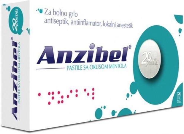 анзібел таблетки інструкція відгуки