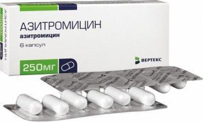 азитроміцин для дитини