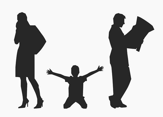після розлучення дитина залишилася з матір'ю