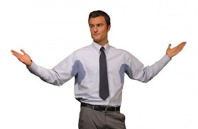 причини підвищеного потовиділення у чоловіків
