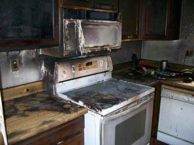 прибирання після пожежі