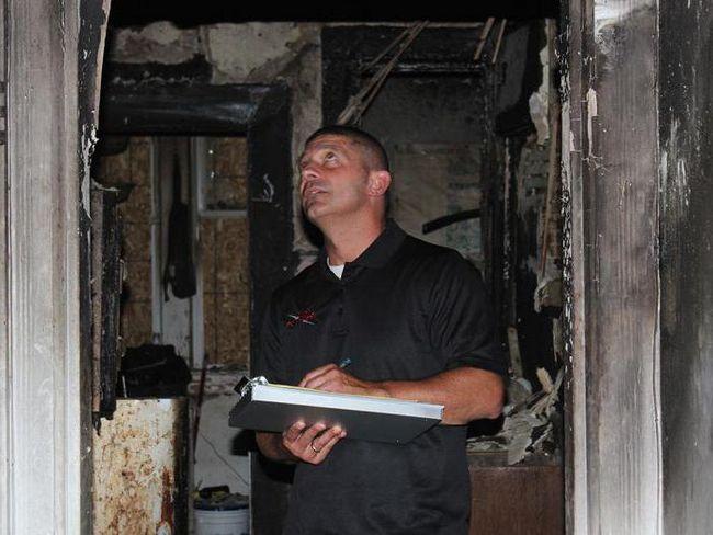 прибирання після пожежі і ремонту