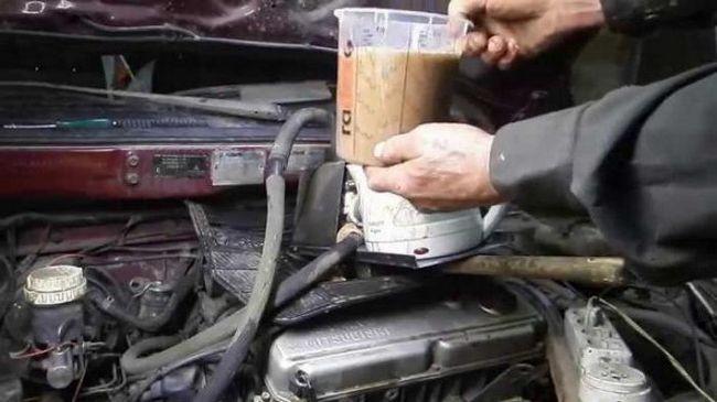 Промивання радіатора грубки без зняття