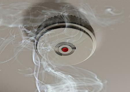 Клапан припливної протидимного вентиляції