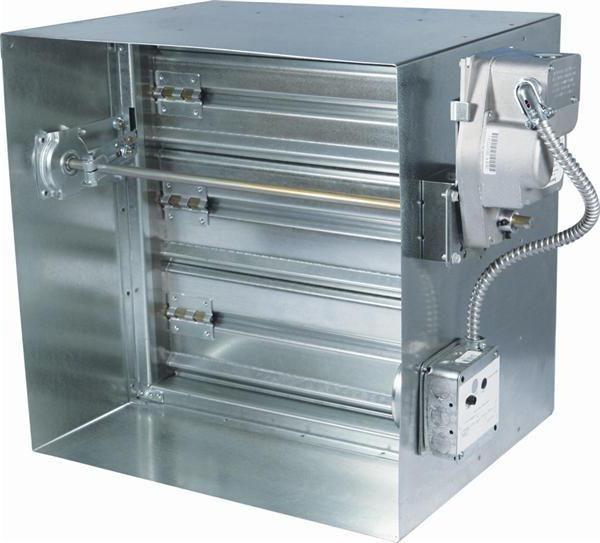 Фото - Протипожежні клапани - класифікація, застосування, особливості експлуатації