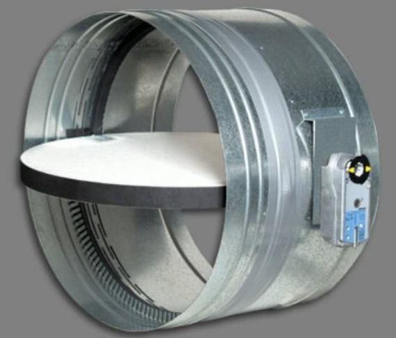 монтаж протипожежних клапанів