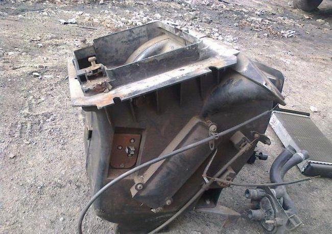 радіатор грубки ваз 2109 фото