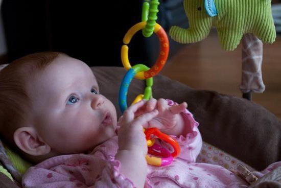 іграшки в ліжечко для новонароджених