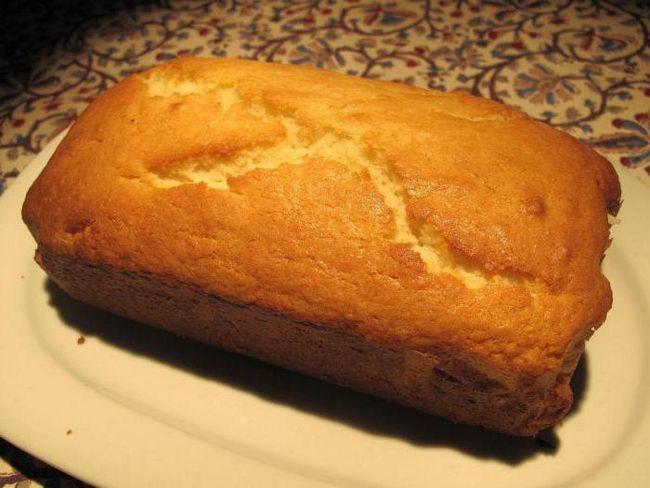 рецепт простого і смачного кексу