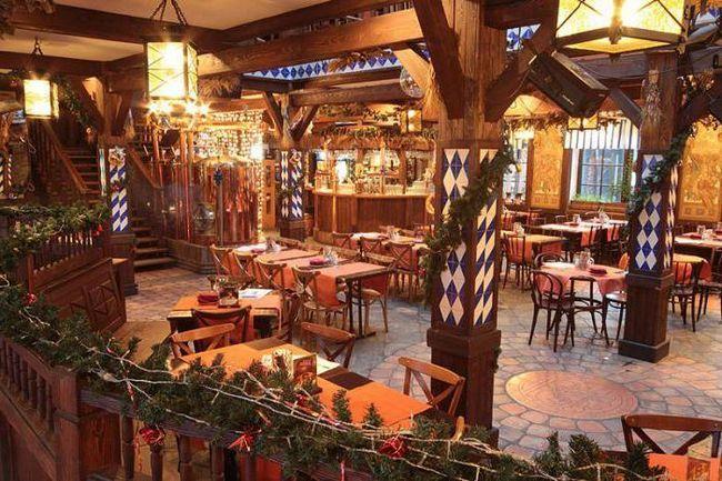 ресторан Карл і Фрідріх на Крестовському острові
