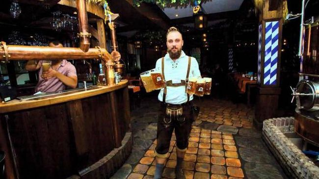 ресторан пивоварня Карл і Фрідріх