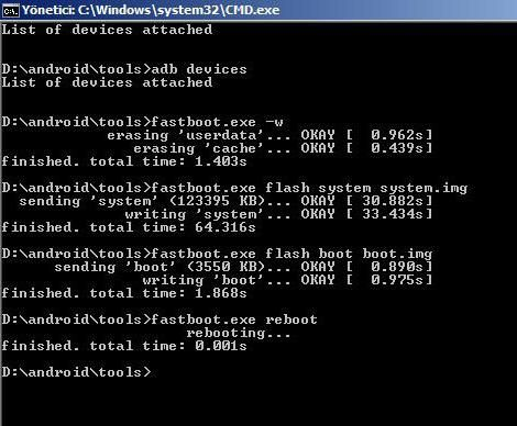 fastboot driver