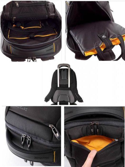 Фото - Рюкзак Samsonite - висока якість товарів і довгий термін експлуатації