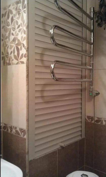 монтаж рольставні в туалет