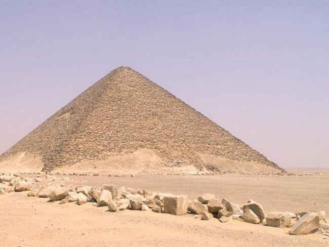 Фото - Рожева піраміда і її нерозгадані таємниці