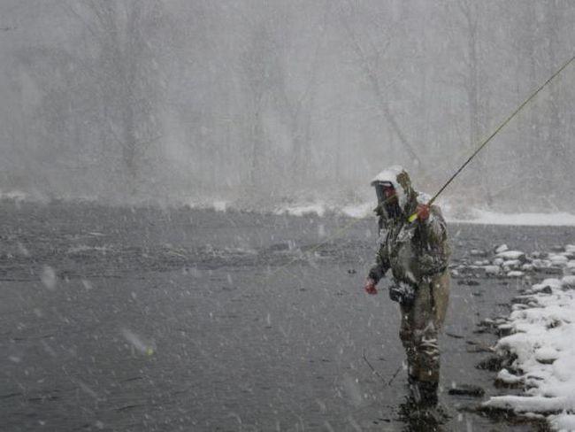 зимова риболовля в Примор'я