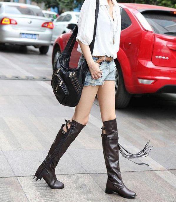 Фото - З чим носити ботфорти з каблуком (фото)?