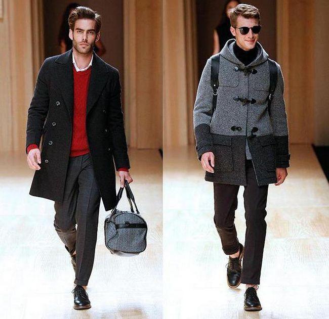 чоловічі пальта молодіжні