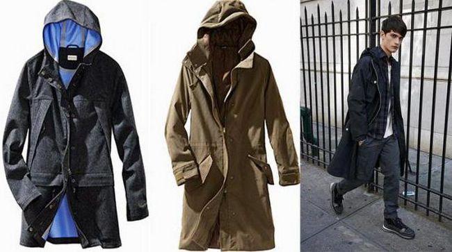 модне чоловіче пальто