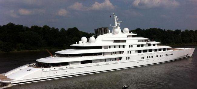 найбільша в світі яхта