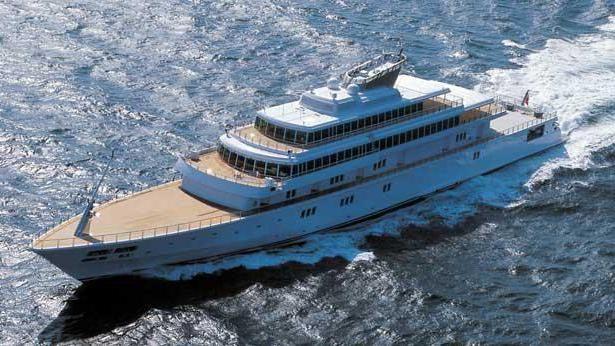 найбільша яхта у світі