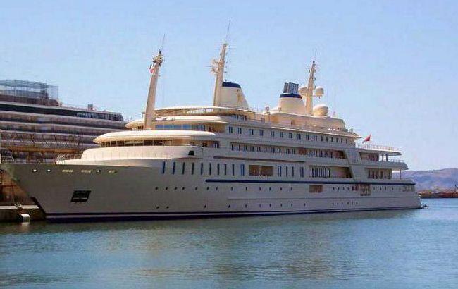 найбільша парусна яхта в світі 2015