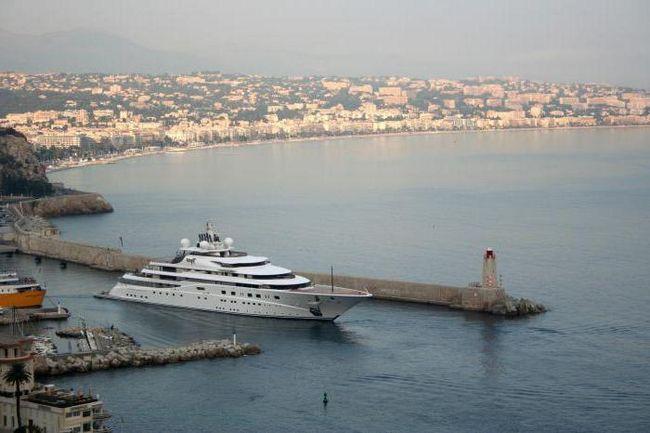 найбільша парусна яхта в світі фото