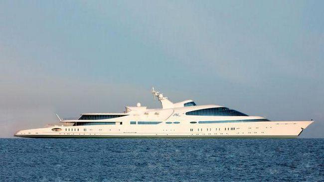 найбільша яхта у світі арабського шейха