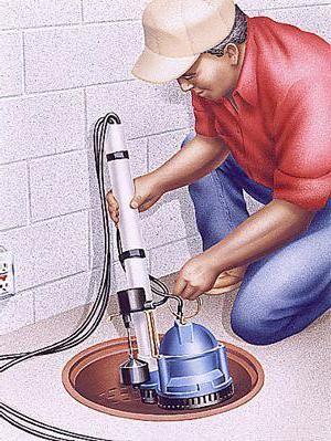 дренажний насос для каналізації
