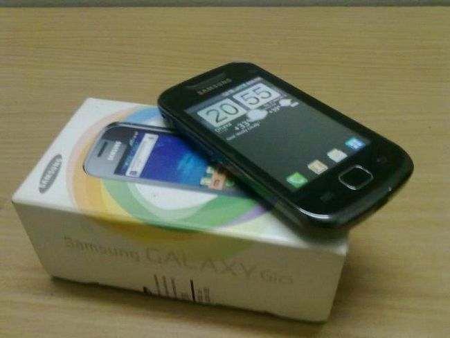 смартфони samsung galaxy gio