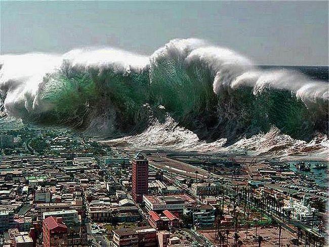 Фото - Найбільші цунамі в світі. Яка висота найбільшого цунамі в світі?