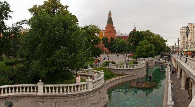 красиві парки москви восени