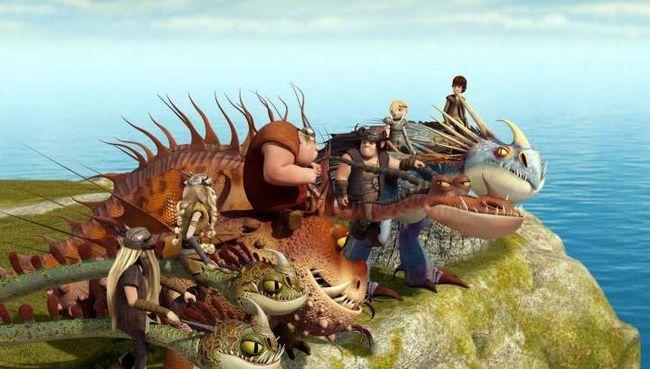 мультик про дракона Беззубіка