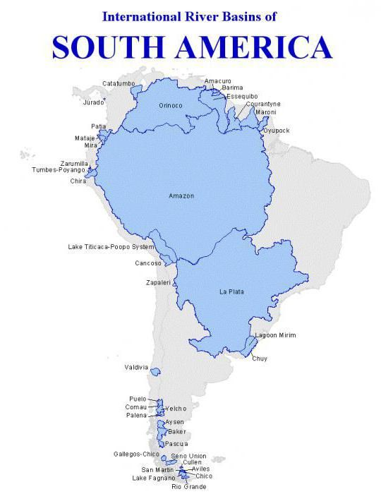 південна америка найвологіший материк землі