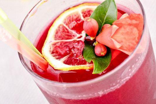 Сангрія рожева
