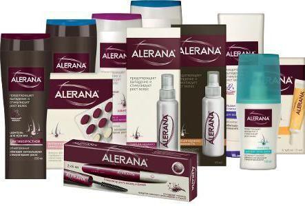 Алерана шампунь проти випадіння волосся