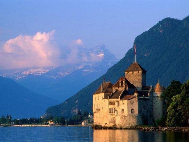 Шильонський замок фото