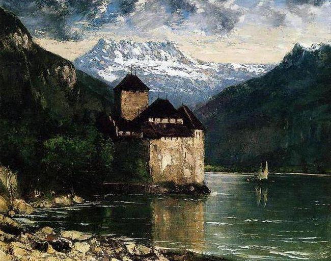 Фото - Шильонський замок в Швейцарії