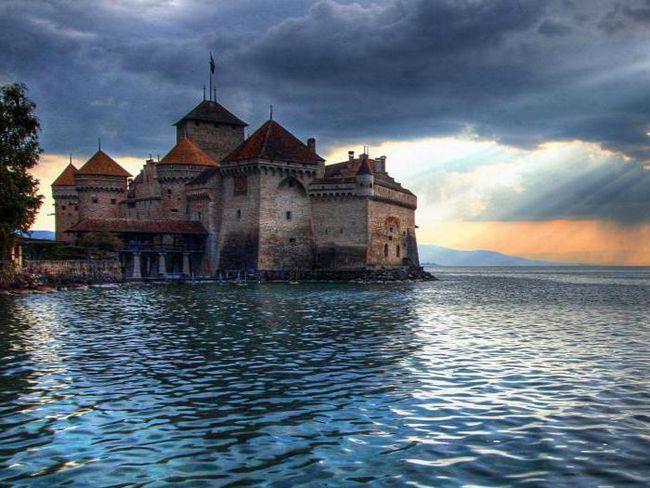 Женевське озеро і Шильонський замок