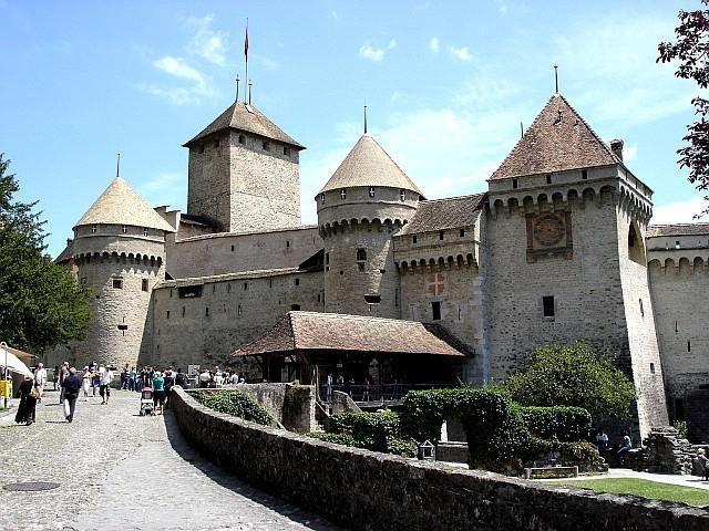 Шильонський замок в Монтре