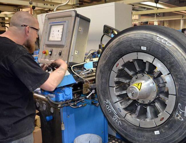 Виготовлення шин низького тиску