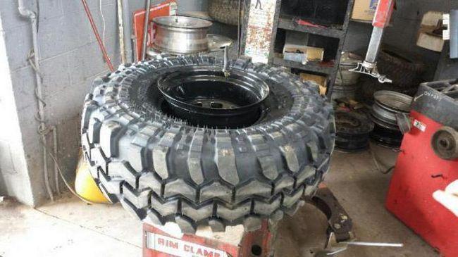 Саморобки на шинах низького тиску