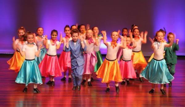 школа танців для дітей від 4 років