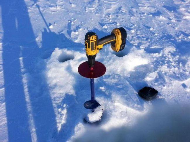 Фото - Шуруповерт для льодобуру який вибрати? Поради бувалих рибалок