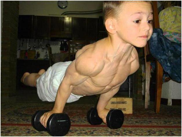 Найсильніша дитина в світі