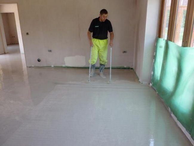 скільки сохне стяжка підлоги